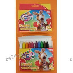 Kredki woskowe 10 kolorowe Koma-Plast