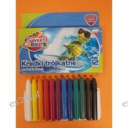 Kredki woskowe 12 kolorowe jumbo Koma-Plast