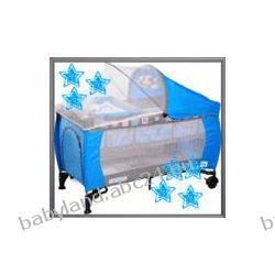 ŁÓŻECZKO CARETERO GRANDE pełne wyposażenie blue