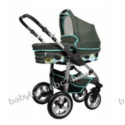 V-Travel wózek głęboko-spacerowy 2 w1 kolor zielony BABYWORLD