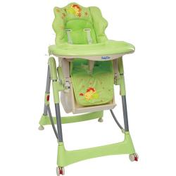 BabyOno krzesełko do karmienia 2858kz osiołek zielone