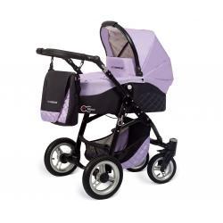 Babyactive wózek 3w1 EL-NINO LILA z fotelikiem