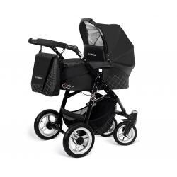 Babyactive wózek 3w1 EL-NINO black z fotelikiem