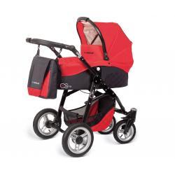 Babyactive wózek 3w1 EL-NINO red z fotelikiem
