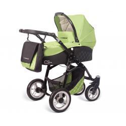 Babyactive wózek 3w1 EL-NINO green z fotelikiem