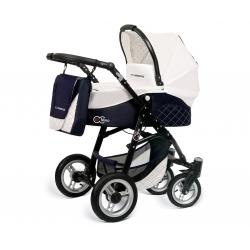 Babyactive wózek 3w1 EL-NINO white z fotelikiem