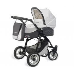 Babyactive wózek 3w1 EL-NINO silver z fotelikiem