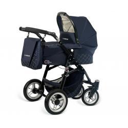 Babyactive wózek 3w1 EL-NINO navy z fotelikiem