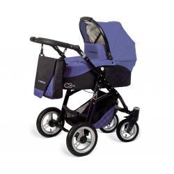 Babyactive wózek 3w1 EL-NINO violet z fotelikiem