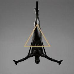 Triangle (Clear W/Black Splatter)