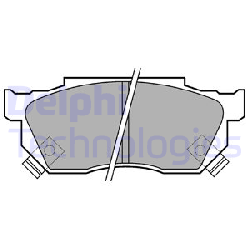 KLOCKI HAM HONDA P/CIVIC 20959  P229