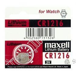 bateria litowa Maxell CR1216