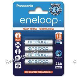 Akumulatorki Panasonic Eneloop R03 AAA 800mAh BK-4MCCE/4BE - 4 sztuki (blister)