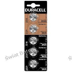 CR2025 bateria litowa blister 1 szt Duracell 3V