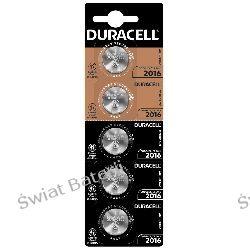 CR2016 Duracell blister 1 szt baterii litowych 3V