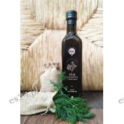 Olej Rzepakowy o smaku kopru tłoczony na zimno, 100 % naturalny, 0,5 l