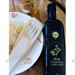 Olej Rzepakowy o smaku kminku, tłoczony na zimno, 100 % naturalny, 0,5 l