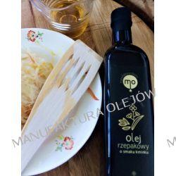 Olej Rzepakowy o smaku kminku, tłoczony na zimno, 100 % naturalny, 0,25 l