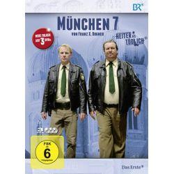 München 7 - Staffel 3 [3 DVDs] - Andreas Giebel, Florian Karlheim, Monika Gruber, Julia Koschitz, Dorothee Hartinger