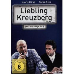 Liebling Kreuzberg - Folge 10-18 [3 DVDs] - Manfred Krug, Stefan Reck, Corinna Genest, Anja Franke, Roswitha Schreiner