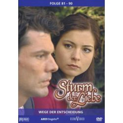 Sturm der Liebe - Staffel 09/Episoden 81-90 [3 DVDs] - Henriette Richter-Röhl, Gregory B. Waldis, Claudia Wenzel, Judith Hildebrandt, Dirk Galuba