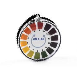Paski lakmusowe uniwersalne do pomiaru pH 0-14 rolka 5 metrów