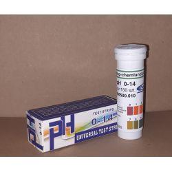 Paski lakmusowe uniwersalne do pomiaru pH 0-14, 150 sztuk