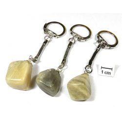 KAMIEŃ KSIĘŻYCOWY breloczek do kluczy 1szt Biżuteria i Zegarki