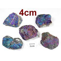 CHALKOPIRYT (4cm)- surowa bryłka 1szt. Skamieliny, minerały i muszle