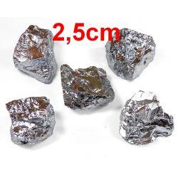 KRZEM czysty(2,5cm) - surowa bryłka 1szt. Skamieliny, minerały i muszle