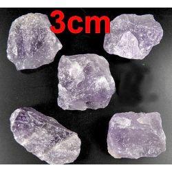 AMETYST (30-40mm) - surowa bryłka 1szt. Skamieliny, minerały i muszle