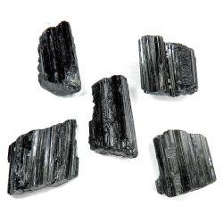 TURMALIN SZERL (30-35mm)- Kryształ surowy 1szt Skamieliny, minerały i muszle