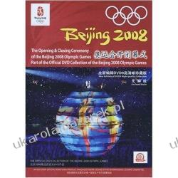 The Openning & Closing Ceremony of the Beijing 2008 Olympic Games Part of the Official DVD Collection of the Beijing 2008 Olympic Games 3 Disc Pekin igrzyska olimpijskie Projektowanie i planowanie ogrodu