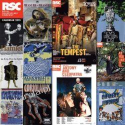 Kalendarz Royal Shakespeare Company wall calendar 2015 (Art calendar) Projektowanie i planowanie ogrodu
