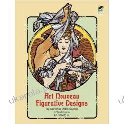 Art Nouveau Figurative Designs (Dover Pictorial Archive) Po angielsku