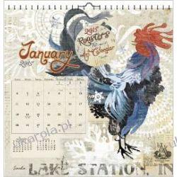 Kalendarz Koguty Roosters 2015 Calendar Projektowanie i planowanie ogrodu