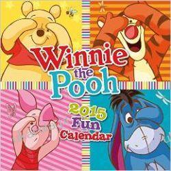 Kalendarz Kubuś Puchatek WINNIE THE POOH (FUN) SQUARE WALL CALENDAR 2015