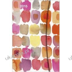 Kalendarz - notatnik 2015 Watercolors - Maria Carluccio Magneto Diary Sml 10 x 15cm Projektowanie i planowanie ogrodu