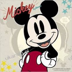 Kalendarz Myszka Miki Disney Mickey 2016 Calendar Mouse dzieci donald daisy pluto