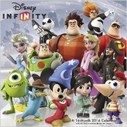 Kalendarz Disney Infinity 2016 Calendar