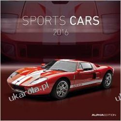 Kalendarz Auta sportowe samochody Sports Cars 2016 Broschürenkalender