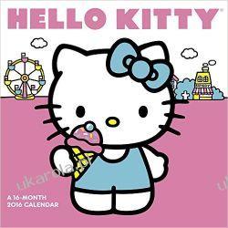 Kalendarz dla dzieci dziewczynki Hello Kitty 2016 Calendar