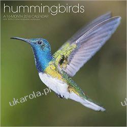 Kalendarz kolibry Hummingbirds 2016 Calendar koliberki ptaki