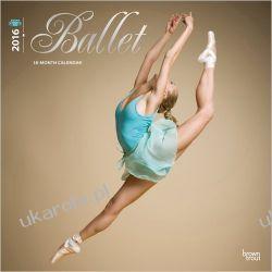 Kalendarz Balet taniec Ballet 2016 Wall (ST-White Glitter)