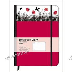 Kalendarz 2016 Poppies 16 x 22 SoftTouch Diary Notatnik Planner