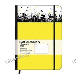 Kalendarz Wiosna 2016 Spring 16 x 22 SoftTouch Diary Notatnik organizer