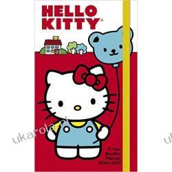 Kalendarz Notatnik Hello Kitty 2-year Monthly Planner 2016-2017 dla dzieci