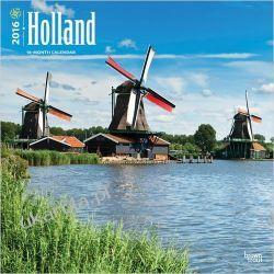 Kalendarz Holland 2016 Wall Calendar Holandia The Netherlands
