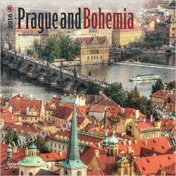 Kalendarz Czechy Praga Prague and Bohemia 2016 Wall Calendar