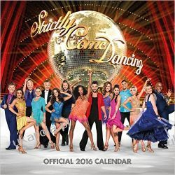 Kalendarz Official Strictly Come Dancing 2016 Square Calendar